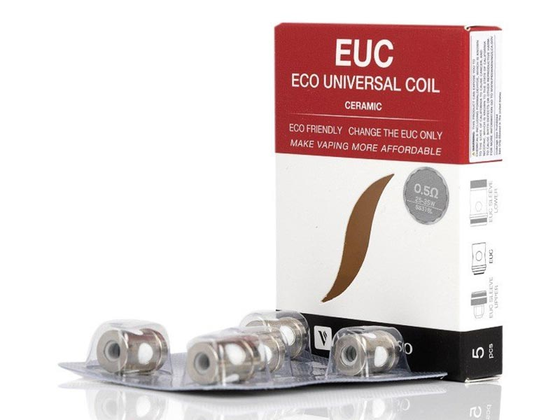 Vaporesso EUC Ccell Coils for Veco/Estoc/Target/ORC/Gemini/VM Series 5pcs