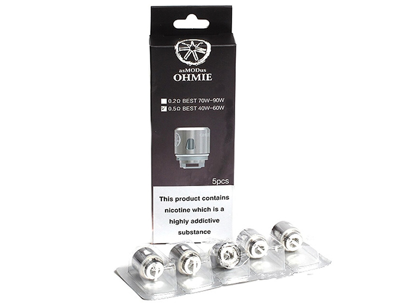 Asmodus Ohmie Replacement Coil 5pcs