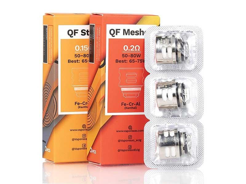 Vaporesso QF Mesh/QF Strip SKRR / Luxe Replacement Coil 3pcs
