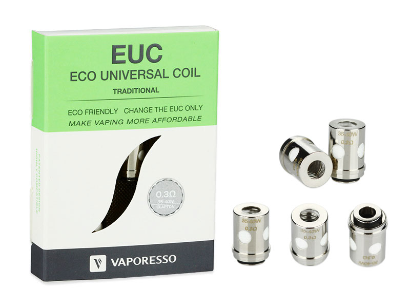 Сменные испарители Vaporesso Traditional EUC for VECO ONE 0.3oHm 5pcs