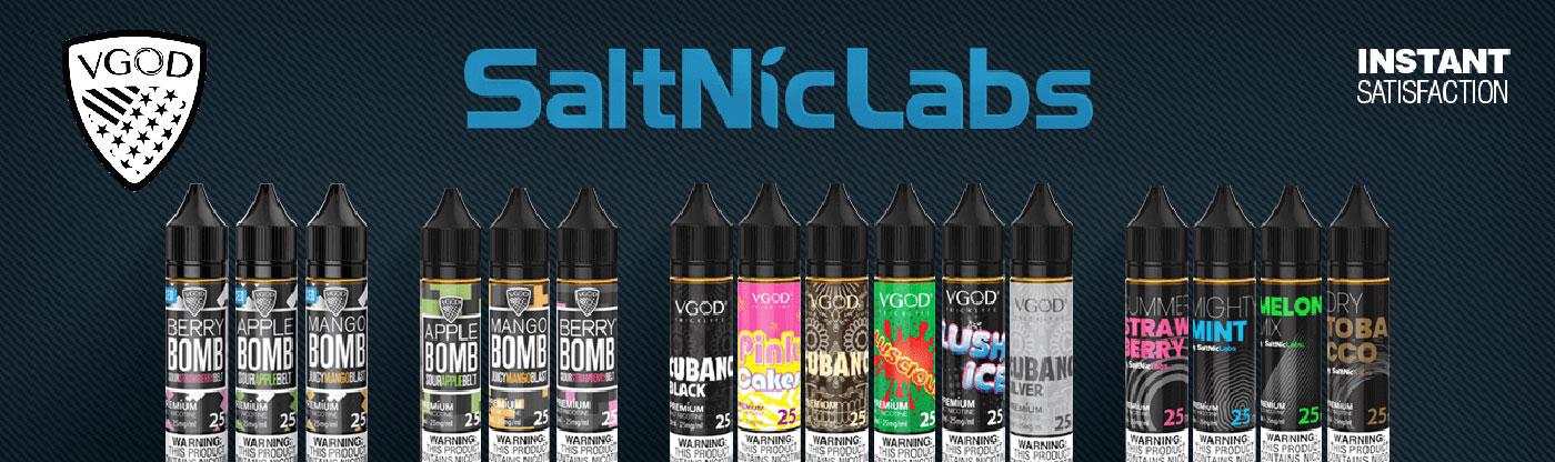 Vgod SaltNic E-liquids