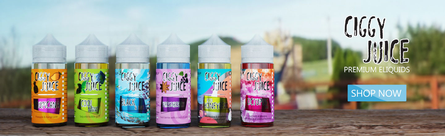 Ciggy Juice - Try our Bestsellers!
