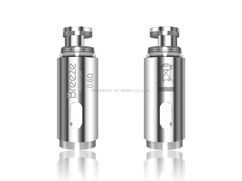Aspire Breeze 1/2 Atomizer Head 5pcs
